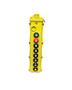 Magnetek Pendant Pushbutton Station 8 Buttons