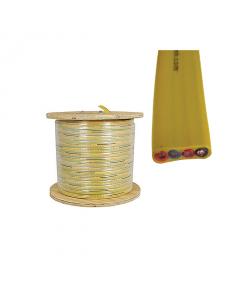 Flat Festoon Cable - 12 gauge 4 conductors