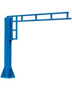 Gorbel Jib Crane Free Standing 1/2Ton: 8 ft Hub - 4 ft Span