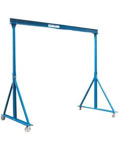 Gorbel 1 Ton Adjustable Steel Gantry Crane: 8ft Span