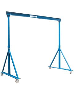 Gorbel 1 Ton Adjustable Steel Gantry Crane: 10ft Span