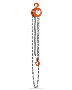CM Series 622 Hand Chain Hoist 1/2 Ton 10 ft Lift