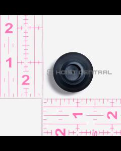 Black Button Cover