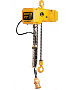 Harrington, 1/2 Ton Electric Hoist, 3 Phase, 15 fpm