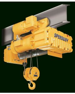 Acco Speedway, 3-Ton Electric Wire Rope Hoist, 15 fpm, 21ft Lift