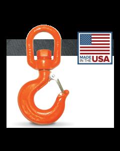 24,255 lb. CM Alloy Swivel Rigging Hook