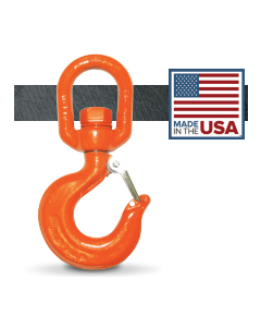2,205 lb. CM Alloy Swivel Rigging Hook