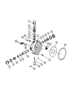 Throttle Control Head Parts - All Models