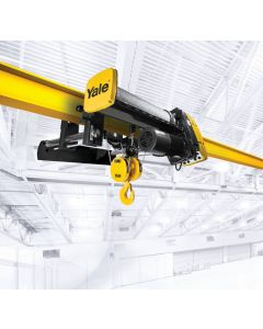 Yale, 10-Ton Electric Wire Rope Hoist, 20/3.3 fpm, 33ft Lift